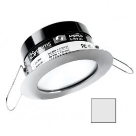 i2Systems Apeiron A503 3W Spring Mount Light - Cool White - White Finish