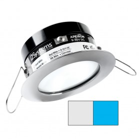 i2Systems Apeiron A503 3W Spring Mount Light - Cool White Blue - Polished Chrome Finish