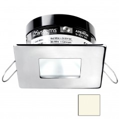 i2Systems Apeiron A503 3W Spring Mount Light - Square-Square - Neutral White - Polished Chrome Finish