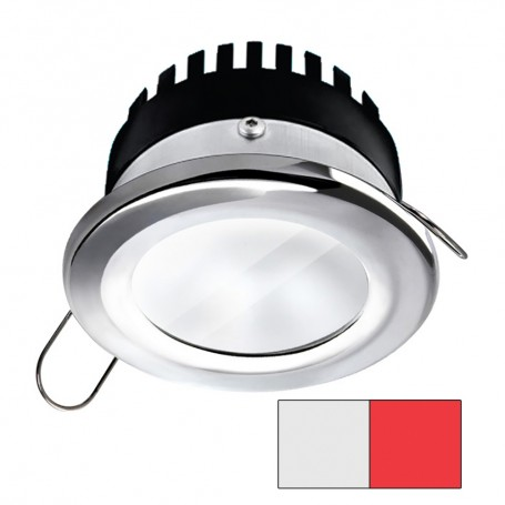 i2Systems Apeiron A506 6W Spring Mount Light - Round - Cool White Red - Polished Chrome Finish