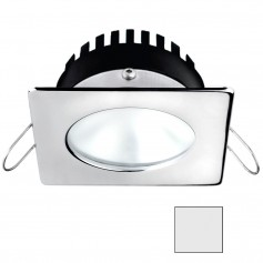 i2Systems Apeiron A506 6W Spring Mount Light - Square-Round - Cool White - Polished Chrome Finish