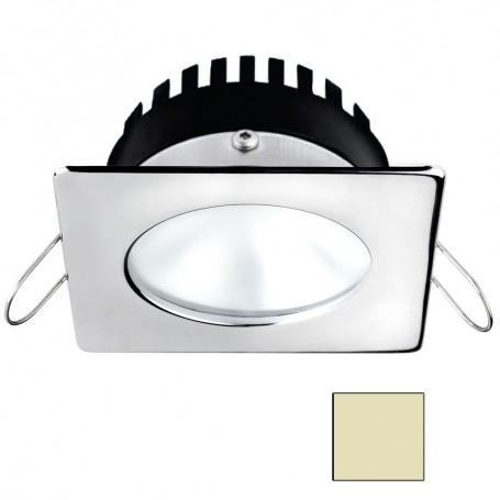 i2Systems Apeiron A506 6W Spring Mount Light - Square-Round - Warm White - Polished Chrome Finish