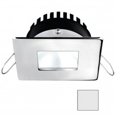 i2Systems Apeiron A506 6W Spring Mount Light - Square-Square - Cool White - Polished Chrome Finish