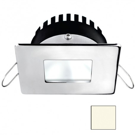 i2Systems Apeiron A506 6W Spring Mount Light - Square-Square - Neutral White - Polished Chrome Finish