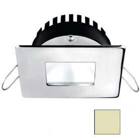 i2Systems Apeiron A506 6W Spring Mount Light - Square-Square - Warm White - Polished Chrome Finish