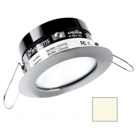 i2Systems Apeiron PRO A503 - 3W Spring Mount Light - Round - Neutral White - Brushed Nickel Finish