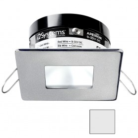 i2Systems Apeiron PRO A503 - 3W Spring Mount Light - Square-Square - Cool White - Brushed Nickel Finish
