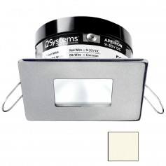 i2Systems Apeiron PRO A503 - 3W Spring Mount Light - Square-Square - Neutral White - Brushed Nickel Finish