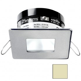 i2Systems Apeiron PRO A503 - 3W Spring Mount Light - Square-Square - Warm White - Brushed Nickel Finish