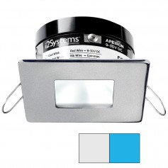 i2Systems Apeiron PRO A503 - 3W Spring Mount Light - Square-Square - Cool White Blue - Brushed Nickel Finish