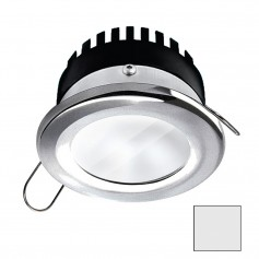 i2Systems Apeiron PRO A506 - 6W Spring Mount Light - Round - Cool White - Brushed Nickel Finish