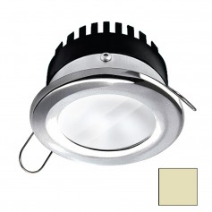 i2Systems Apeiron PRO A506 - 6W Spring Mount Light - Round - Warm White - Brushed Nickel Finish