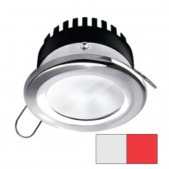 i2Systems Apeiron PRO A506 - 6W Spring Mount Light - Round - Cool White Red - Brushed Nickel Finish