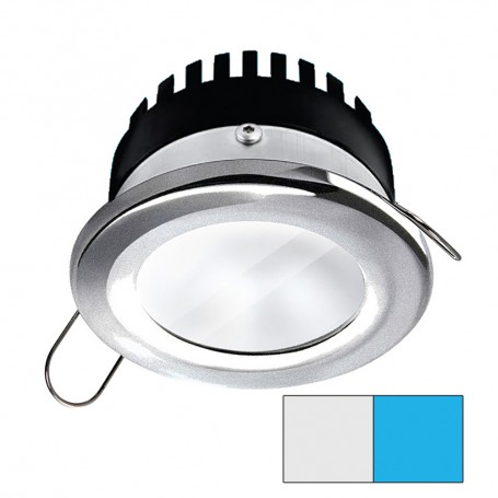 i2Systems Apeiron PRO A506 - 6W Spring Mount Light - Round - Cool White Blue - Brushed Nickel Finish