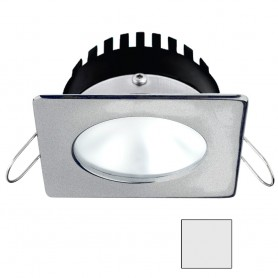 i2Systems Apeiron PRO A506 - 6W Spring Mount Light - Square-Round - Cool White - Brushed Nickel Finish