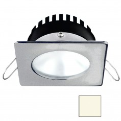 i2Systems Apeiron PRO A506 - 6W Spring Mount Light - Square-Round - Neutral White - Brushed Nickel Finish