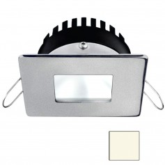 i2Systems Apeiron PRO A506 - 6W Spring Mount Light - Square-Square - Neutral White - Brushed Nickel Finish