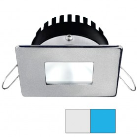 i2Systems Apeiron PRO A506 - 6W Spring Mount Light - Square-Square - Cool White Blue - Brushed Nickel Finish
