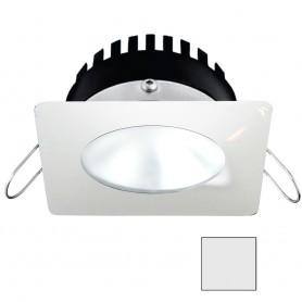 i2Systems Apeiron PRO A506 - 6W Spring Mount Light - Square-Round - Cool White - White Finish
