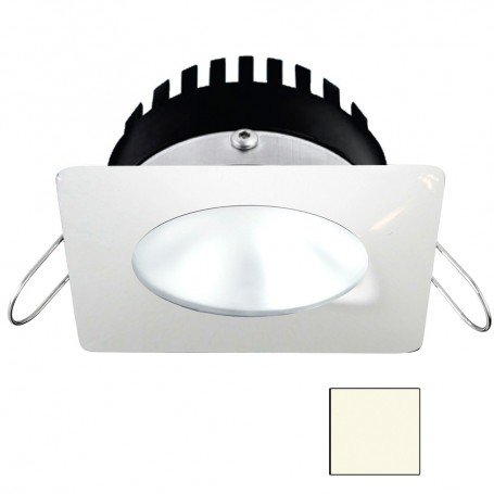 i2Systems Apeiron PRO A506 - 6W Spring Mount Light - Square-Round - Neutral White - White Finish