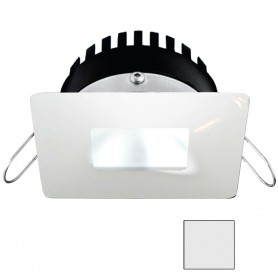 i2Systems Apeiron PRO A506 - 6W Spring Mount Light - Square-Square - Cool White - White Finish