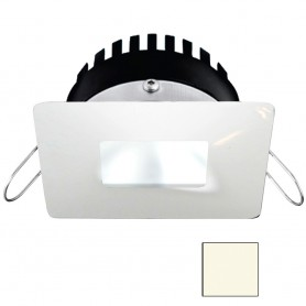 i2Systems Apeiron PRO A506 - 6W Spring Mount Light - Square-Square - Neutral White - White Finish