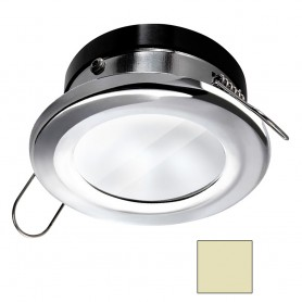 i2Systems Apeiron A1110Z - 4-5W Spring Mount Light - Round - Warm White - Chrome Finish