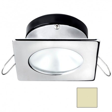 i2Systems Apeiron A1110Z - 4-5W Spring Mount Light - Square-Round - Warm White - Chrome Finish
