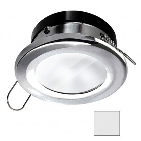 i2Systems Apeiron A1110Z - 4-5W Spring Mount Light - Round - Cool White - Brushed Nickel Finish