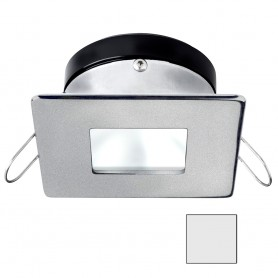 i2Systems Apeiron A1110Z - 4-5W Spring Mount Light - Square-Square - Cool White - Brushed Nickel Finish