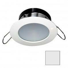 i2Systems Apeiron A1110Z - 4-5W Spring Mount Light - Round - Cool White - White Finish