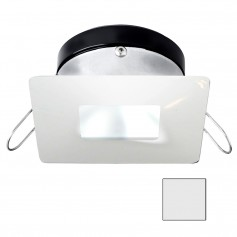 i2Systems Apeiron A1110Z - 4-5W Spring Mount Light - Square-Square - Cool White - White Finish