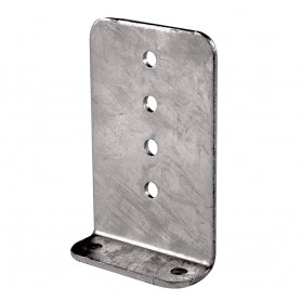 C-E- Smith Vertical 90 Bunk Bracket - 5- x 8- - Aluminum