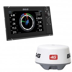 BG Zeus3 9- Multifunction Display 4G Radar Bundle