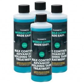 Dometic Max Control Holding Tank Deodorant - BULK Case of Six -6- - Four -4- Pack of Eight -8-oz- Bottles