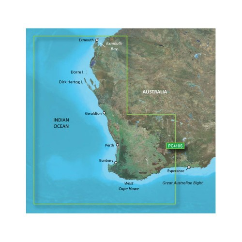 Garmin BlueChart g2 HD - HXPC410S - Esperance To Exmouth Bay - microSD-SD