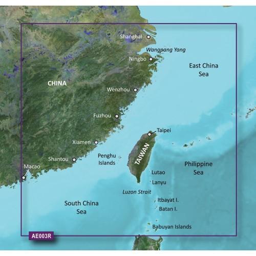 Garmin BlueChart g2 HD - HXAE003R - Taiwan - microSD-SD
