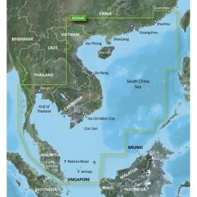 Garmin BlueChart g2 HD - HXAE004R - Hong Kong-South China Sea - microSD-SD