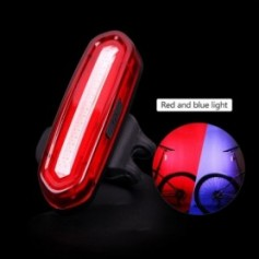 120Lumens Bicycle Rear Light USB Rechargeable Cycling LED Taillight Waterproof MTB Road Bike Tail Light Flashing For Bicycle