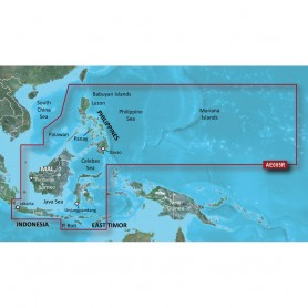 Garmin BlueChart g2 HD - HXAE005R - Phillippines - Java - Mariana Islands - microSD-SD