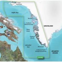 Garmin BlueChart g3 Vision HD - VEU064R - Greenland - microSD-SD