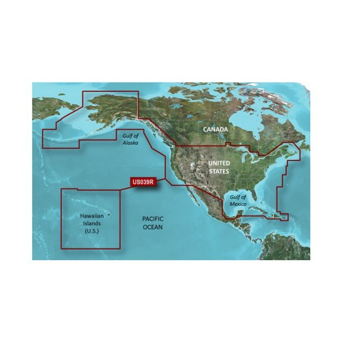 Garmin BlueChart g2 HD - HXUS604x - US All - Canadian West - microSD-SD