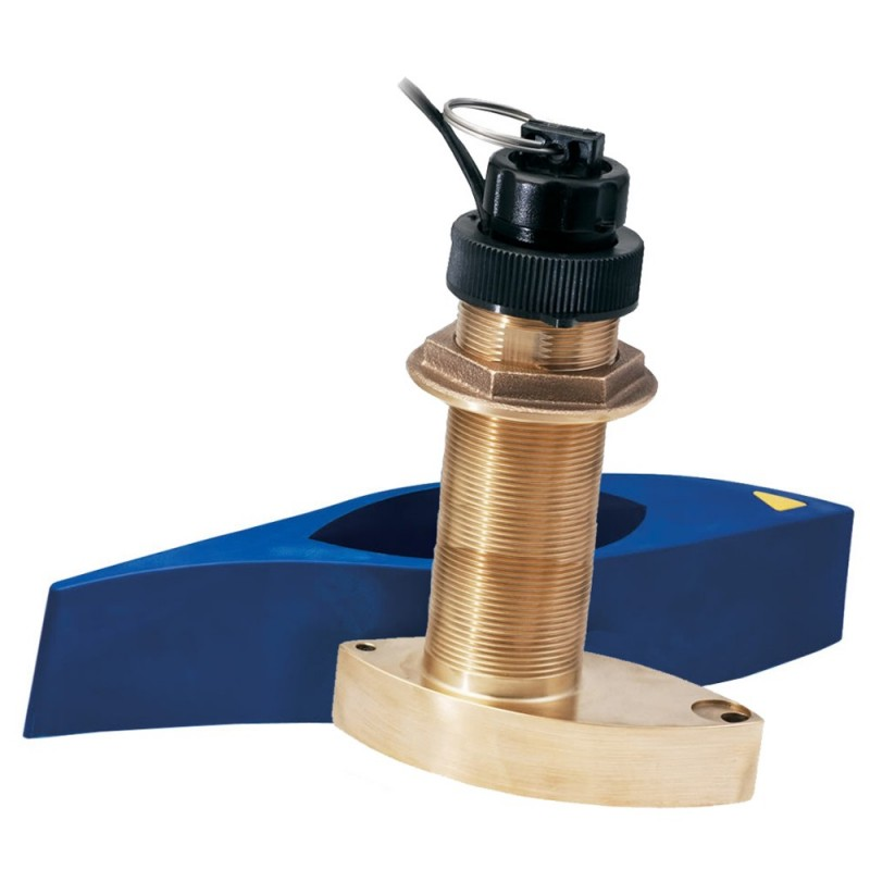 Garmin B744VL Thru Hull Triducer Long Stem 50-200kHz High Speed fairing Block w-6-Pin