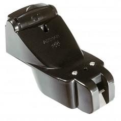 Garmin P66 Transom Mount Triducer 50-200KHZ w- 6 Pin Connector