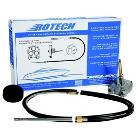 UFlex Rotech 8- Rotary Steering Package - Cable- Bezel- Helm