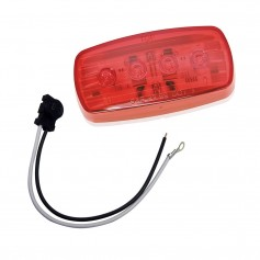 Wesbar LED Clearance-Side Marker Light - Red -58 w-Pigtail
