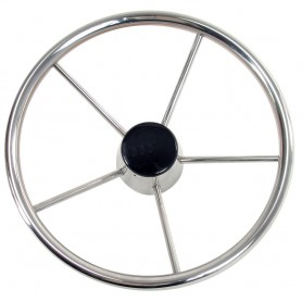 Whitecap Destroyer Steering Wheel - 13-1-2- Diameter