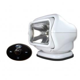 Golight Stryker Searchlight 12V w-Wired Dash Control w-20- Wire Harness - White