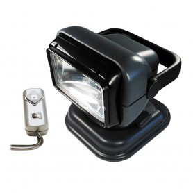 Golight Portable Searchlight w-Wired Remote - Grey