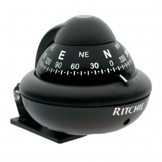 Ritchie X-10B-M RitchieSport Compass - Bracket Mount - Black